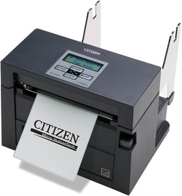 CITIZEN, TICKET PRINTER, 120V, USB, ROLL HOLDER, BLACK - +ETHERNET  Model: CL-S400DTETU-R