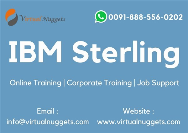 Get Information and buy tickets to IBM Sterling B2B Integrator Online Training  on Virtualnuggets