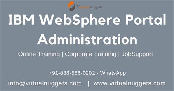 Get Information and buy tickets to IBM WebSphere Portal Online Training  on Virtualnuggets