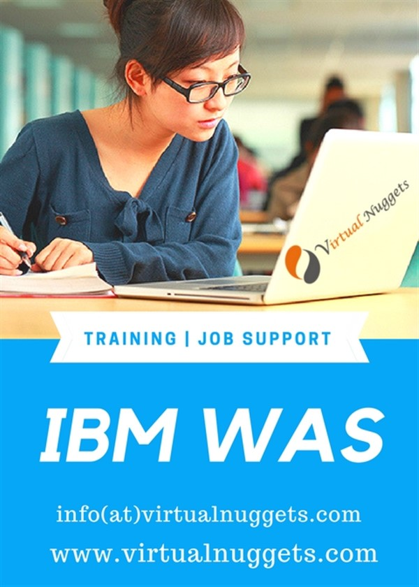 IBM WAS Admin Training| VirtualNuggets