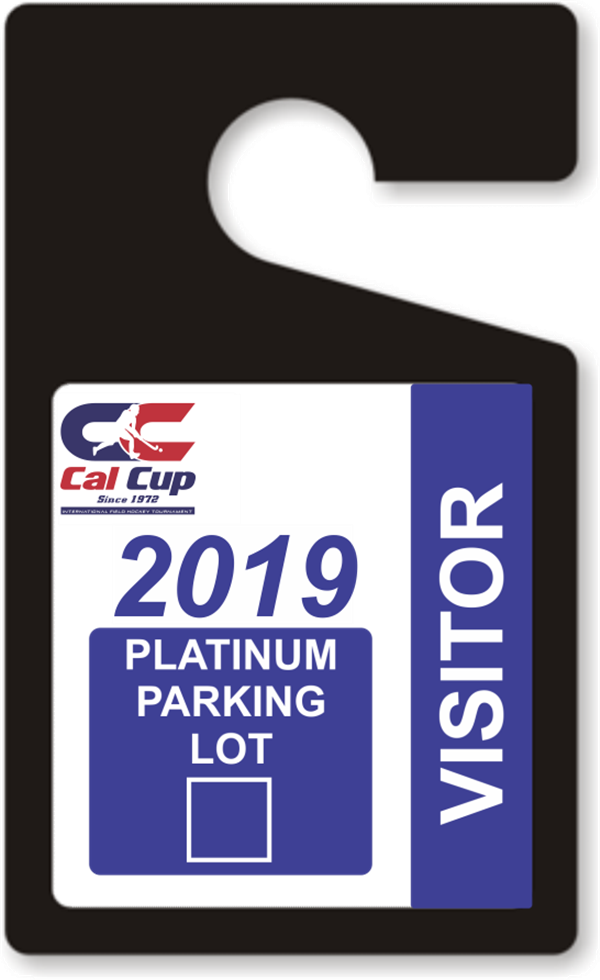Get Information and buy tickets to PLATINUM PARK PASS 2019 $75 - Best Up Close Parking - Only 100 Spaces on California Cup International Field Hockey Tournament