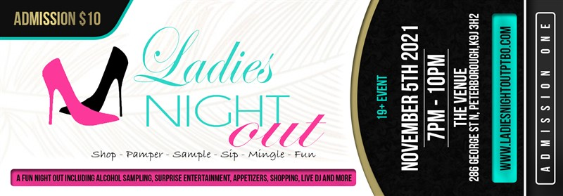 Get Information and buy tickets to Ladies Night Out Peterborough  on Ladiesnightoutptbo.com