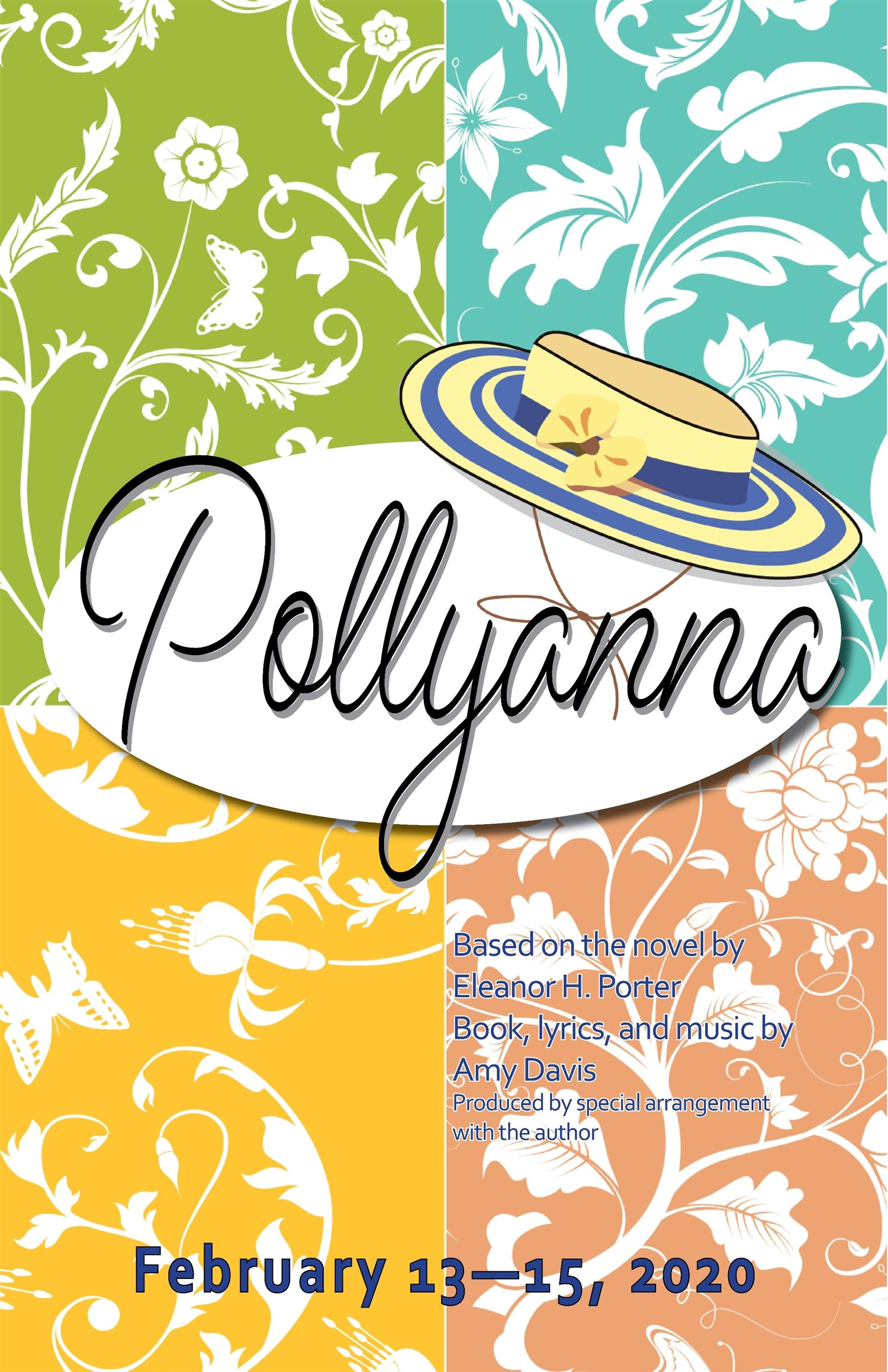 Pollyanna Thursday, February 13, 2020 @ 7:30 pm on Feb 13, 19:30@Spiritual Twist Productions - Pick a seat, Buy tickets and Get information on Spiritual Twist Productions tickets.spiritualtwist.com