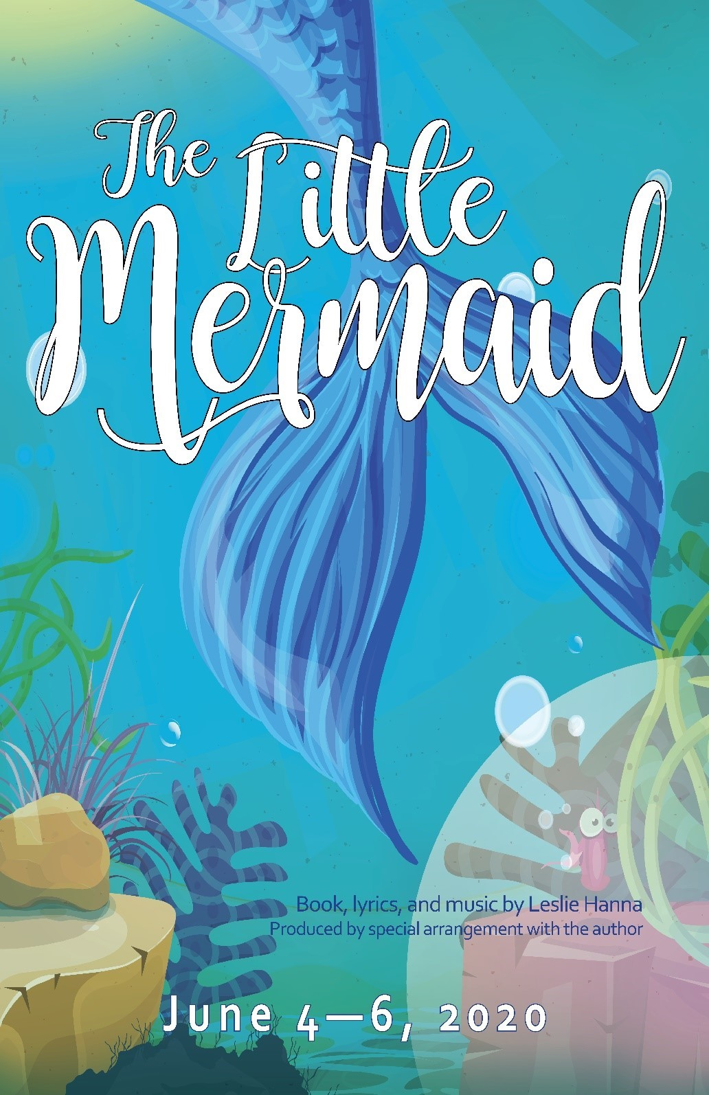 The Little Mermaid Thursday, June 4, 2020 @ 7:30 pm on Jun 04, 19:30@Spiritual Twist Productions - Pick a seat, Buy tickets and Get information on Spiritual Twist Productions tickets.spiritualtwist.com