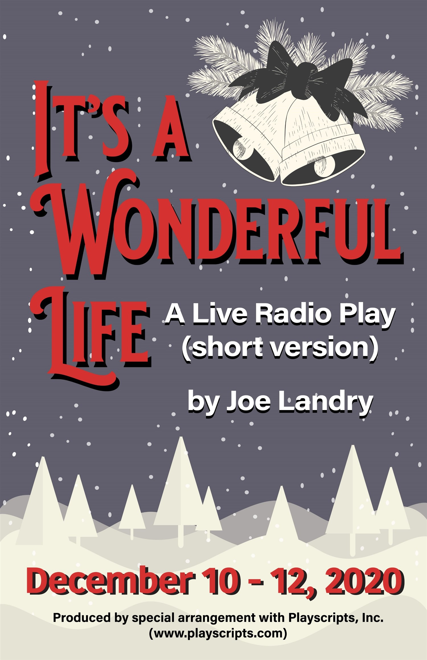 It's a Wonderful Life Wednesday, December 9, 2020  7:30 PM on Dec 09, 19:30@STP- General Admission - Buy tickets and Get information on Spiritual Twist Productions tickets.spiritualtwist.com
