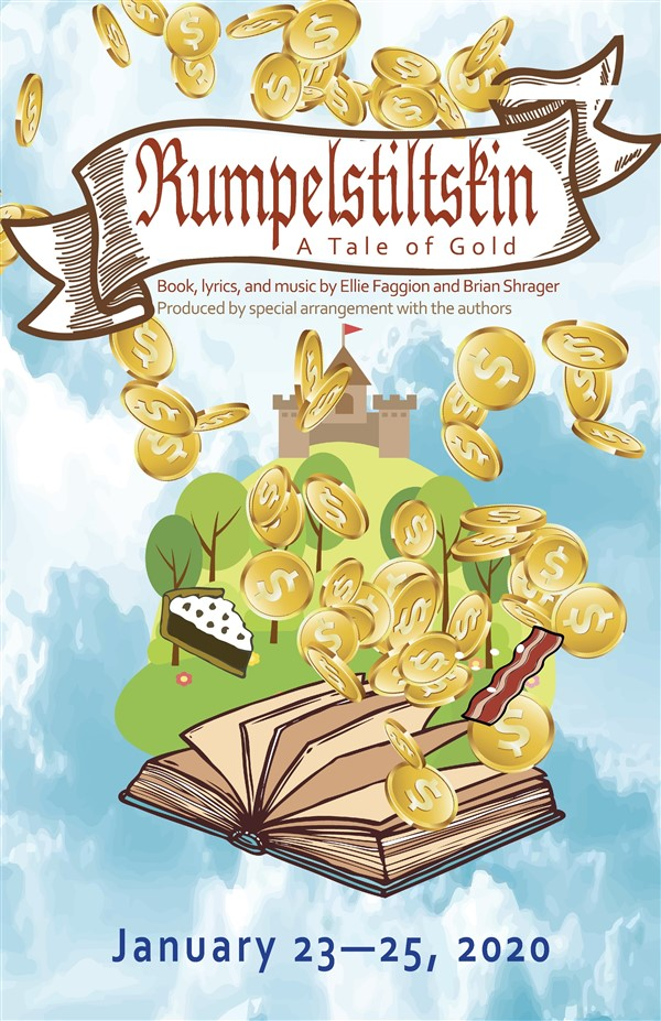 Get Information and buy tickets to Rumpelstiltskin-A Tale of Gold Thursday, January 23, 2020 @ 7:30 pm on Spiritual Twist Productions