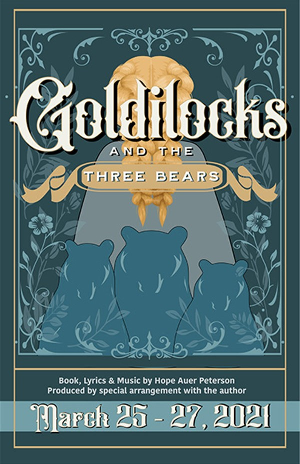 Get Information and buy tickets to Goldilocks and the Three Bears Thursday, March 25, 2021~ 7:30 PM on Spiritual Twist Productions