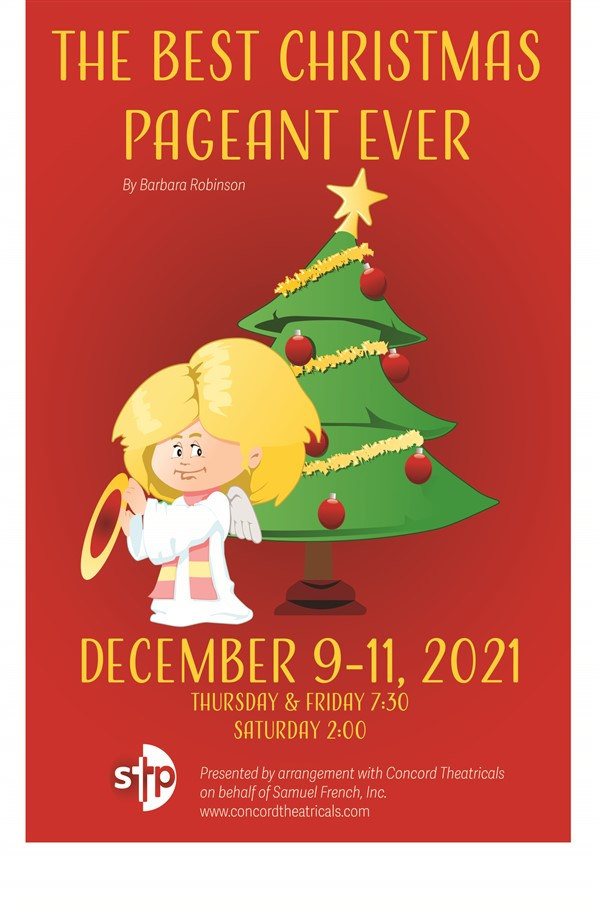 Get Information and buy tickets to The Best Christmas Pageant Ever Thursday, December 9, 2021 @ 7:30 PM on Spiritual Twist Productions