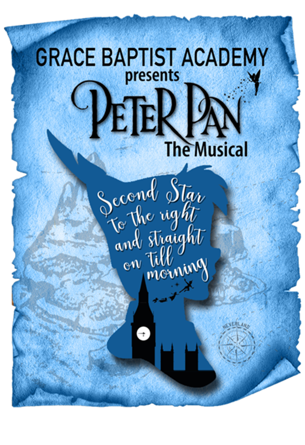 Get Information and buy tickets to Peter Pan - Thursday  on Grace Baptist Academy