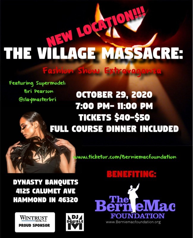 Get Information and buy tickets to The Village Massacre; Fashion Show Extravaganza on berniemacfoundation.org