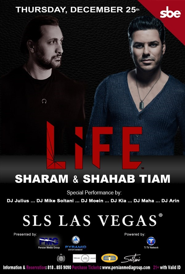 Get Information and buy tickets to Sharam & Shahab Tiam  on Persian Media Group