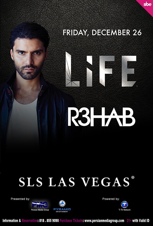 Get Information and buy tickets to Rehab  on Persian Media Group