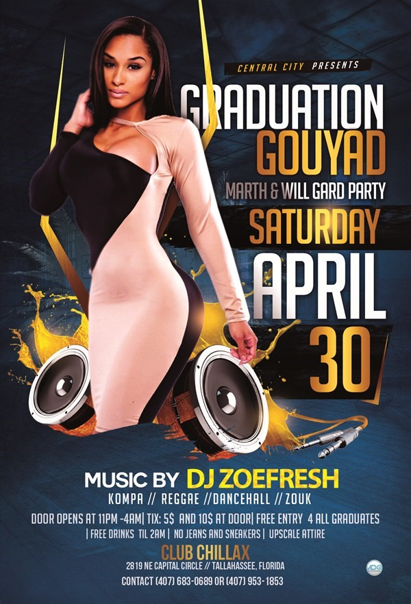 Get Information and buy tickets to Graduation Gouyad  on Central City LVCP