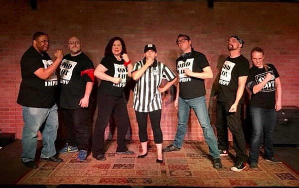 Get Information and buy tickets to Saturday Shenanigans Improv Show  on odd lot