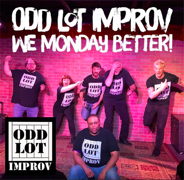 Get Information and buy tickets to Monday Madness Improv Show  on odd lot