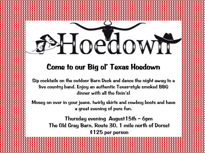 Get Information and buy tickets to Hoedown ICM