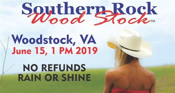 Get Information and buy tickets to Southern Rock Wood Stock Wood Stock, VA June 15 on www.southernrockwoodstock.com
