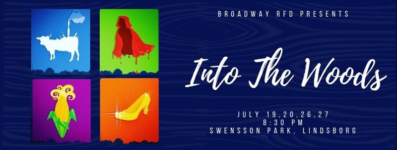 Get Information and buy tickets to Into the Woods Friday, July 26 on Broadway RFD