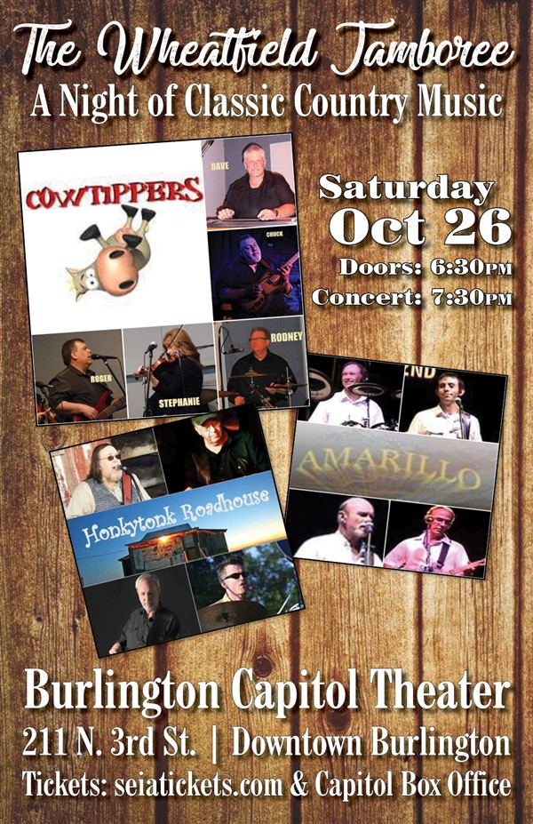 Get Information and buy tickets to Wheatfield Jamboree A Night of Classic Country on SEIA TICKETS