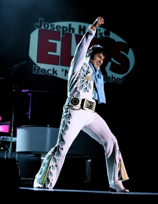 Joseph Hall Elvis Rock n Remember Tribute Show