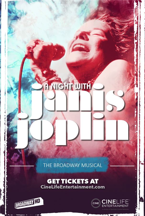 Get Information and buy tickets to A Night with Janis Joplin The Broadway Musical on Film on SEIA TICKETS