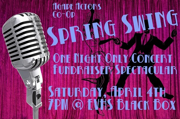 Get Information and buy tickets to Spring Swing - A One Night Only Concert and Fundraiser  on Agape Theatre