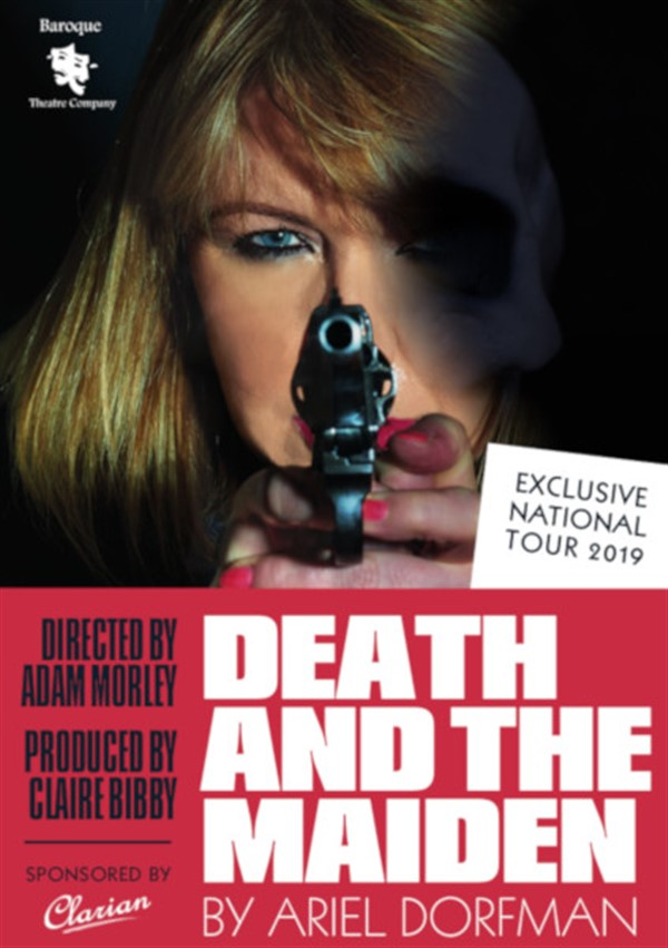 Get Information and buy tickets to Death And The Maiden  on gladstonetheatre.org.uk