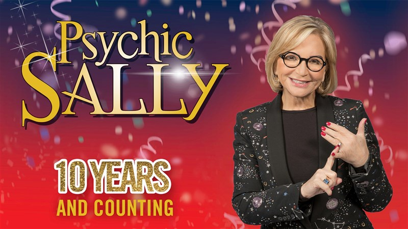 Get Information and buy tickets to PSYCHIC SALLY 10 Years and Counting on gladstonetheatre.org.uk