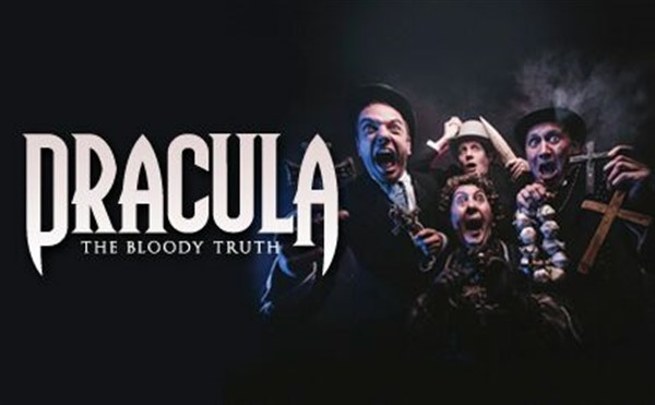 Get Information and buy tickets to Dracula The Bloody Truth on gladstonetheatre.org.uk
