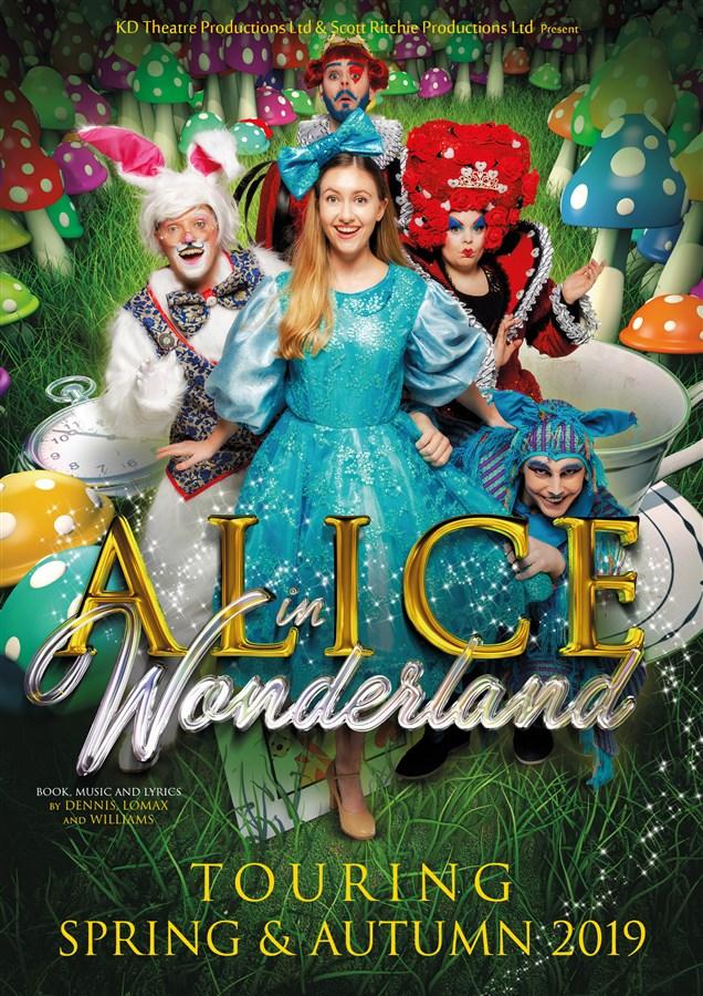 Get Information and buy tickets to Alice in Wonderland  on gladstonetheatre.org.uk
