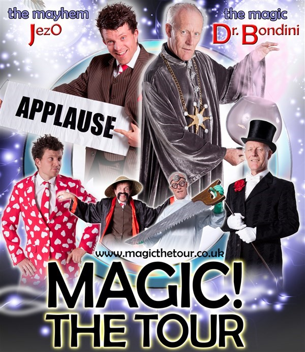 Get Information and buy tickets to Magic! The Tour  on gladstonetheatre.org.uk