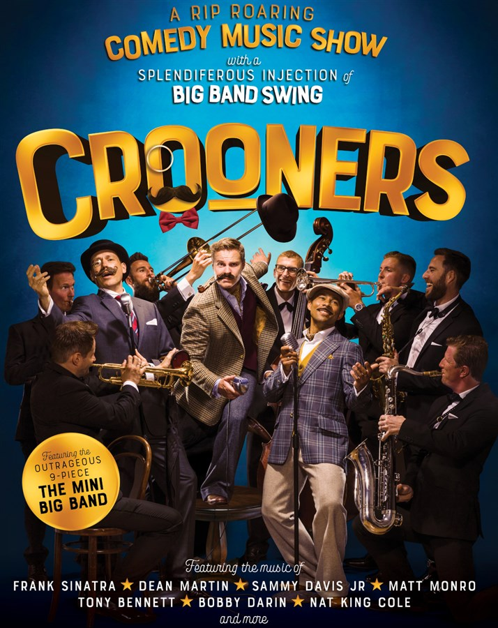 Get Information and buy tickets to The Crooners A Rip Roaring Comedy Music Show on gladstonetheatre.org.uk