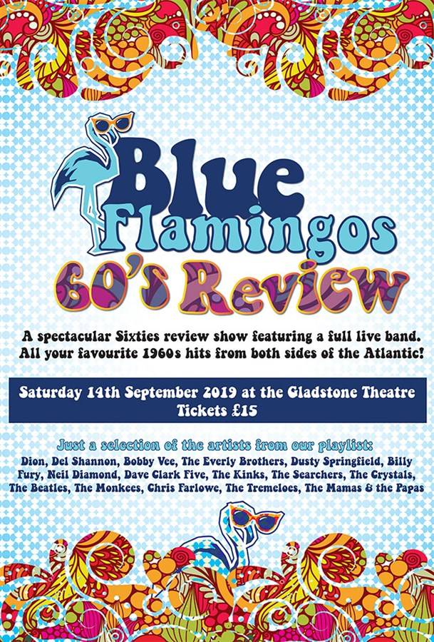 Get Information and buy tickets to Blue Flamingos 60