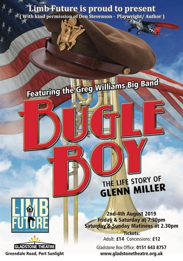Get Information and buy tickets to Bugle Boy  on gladstonetheatre.org.uk