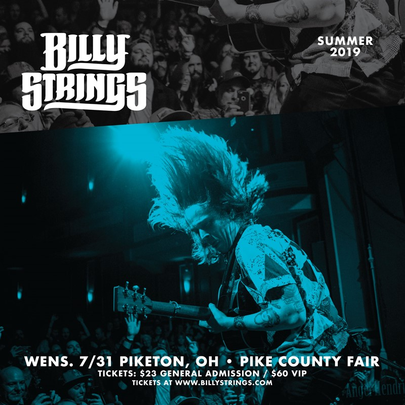 Get Information and buy tickets to Billy Strings & Nick Jamerson on Pike County Fair