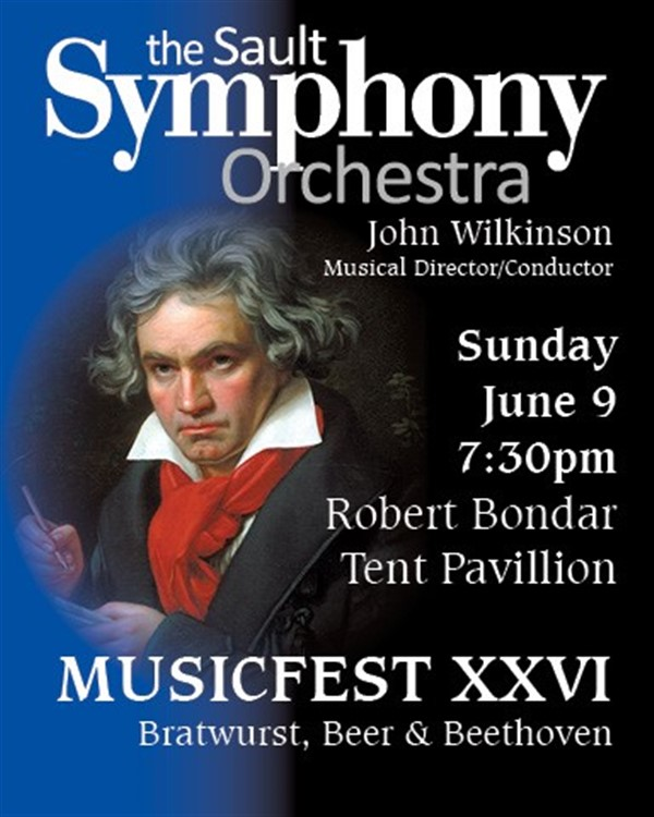 Get Information and buy tickets to Music Fest  XXVI Bratwurst, Beer and Beethoven on www.saultsymphony.ca