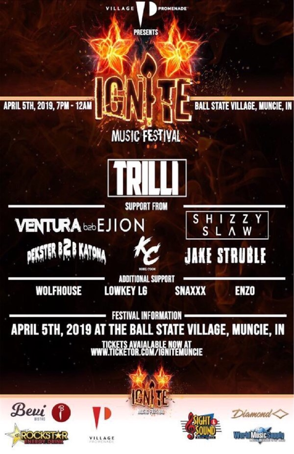 Get Information and buy tickets to Ignite Music Festival Spring 2019 on Ignite Muncie