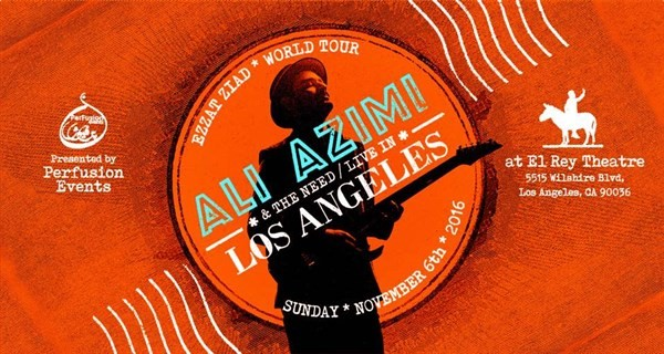 Get Information and buy tickets to Ali Azimi Live in LA  on Ticket Bloom
