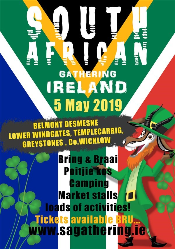 Get Information and buy tickets to South African Gathering 2019  on SA Gathering & Events