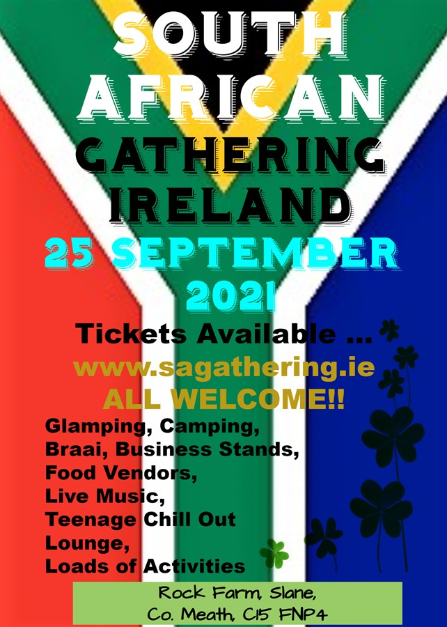 Get Information and buy tickets to SA Gathering 2021  on SOUTH AFRICAN GATHERING