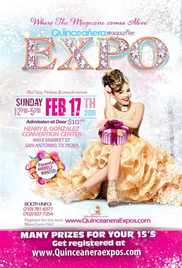 Get Information and buy tickets to San Antonio Quinceanera Expo February 17th 2019 At the Henry  on Ticketor