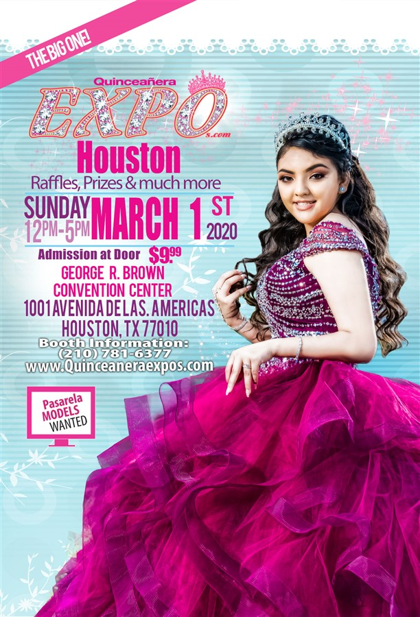 Get Information and buy tickets to Houston Quinceanera Expo 03-01-2020 at George R. Brown Ticke  on Quinceanera Expo
