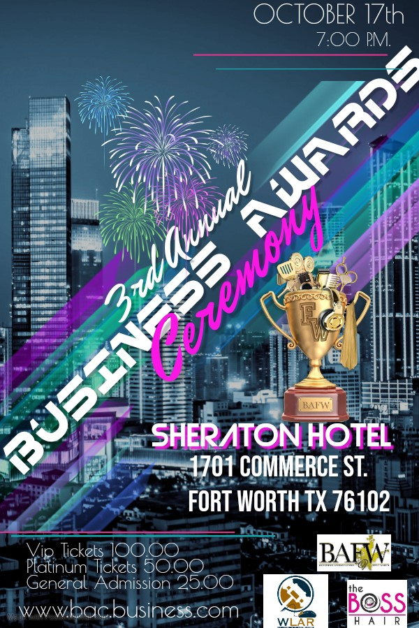 Business Awards Ceremony Nominee Rate on Oct 17, 19:00@Sheraton Hotel - Buy tickets and Get information on