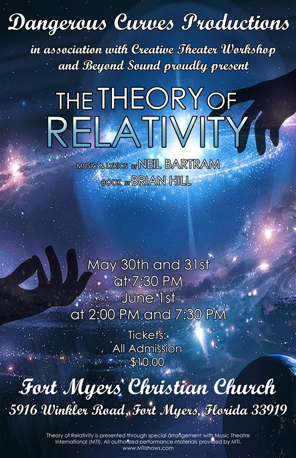 Get Information and buy tickets to Theory of Relativity May 30th 2019  on Creative Theater Workshop