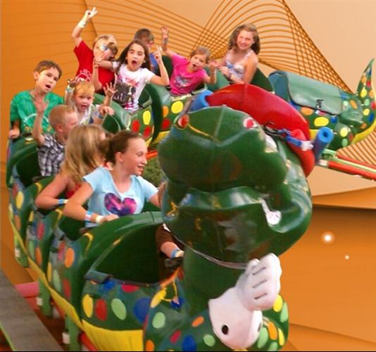 Go Gator Kids Roller Coaster