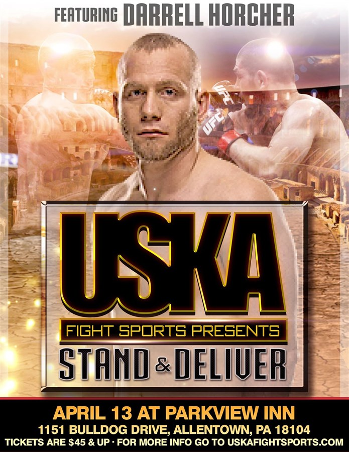 Get Information and buy tickets to USKA Allentown Stand and Deliver! on USKA Fight Sports