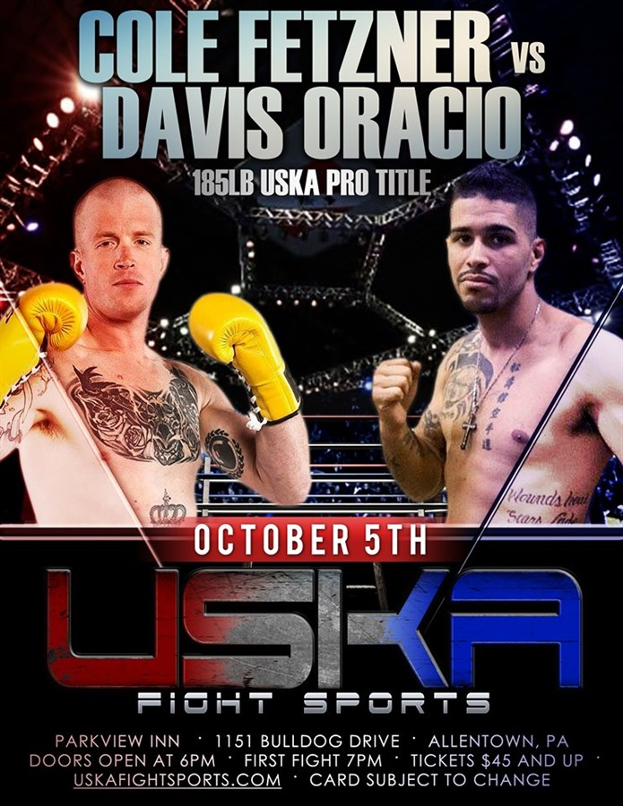 "Get Information and buy tickets to USKA Allentown ""A Night At The Fights"" on USKA Fight Sports"