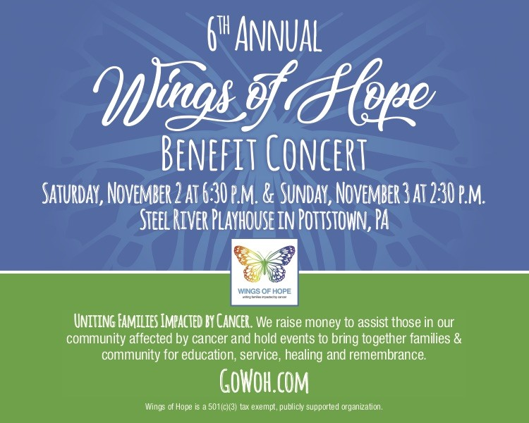 2-Day Package 2019 WOH Benefit Concert See Saturday and Sunday for REDUCED PRICE! on Sep 20, 03:00@Steel River Playhouse - Buy tickets and Get information on GoWOH.com