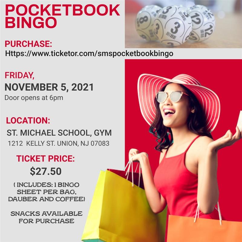 Get Information and buy tickets to Pocketbook Bingo  on SMS  Pocketbook Bingo