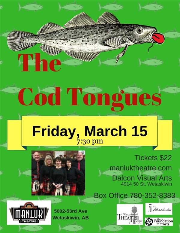 Get Information and buy tickets to The Cod Tongues Celebrate St. Paddy